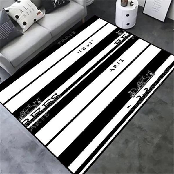 Creative Rugs European Luxurys Living Room Carpet Rug Type 3D Printing Hallway Doormat Anti-Slip Bathroom Kitchen Floor Mats