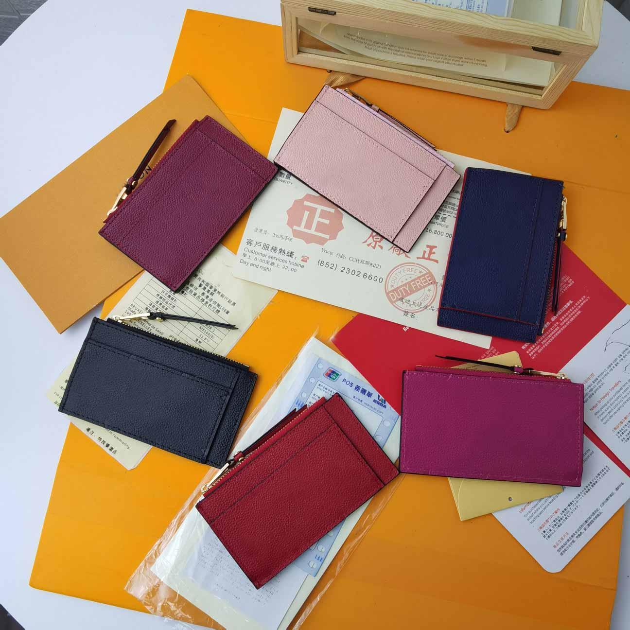 Viele Farben Neue Stil Herren Geld Clip Aluminium Mini Geldbörse Handtasche Kreditkarteninhaber Business Slim Wholesale Smail-Traver Reisebrieftasche Clutch Bag