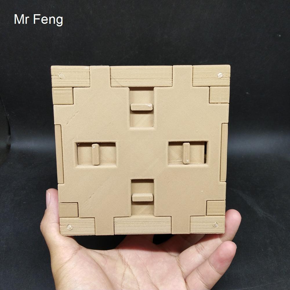 SHW047 / Novedad Hard Brain Teaser Toy Secret Puzzle Caja Juego Modelo Regalo Niño Pla Material