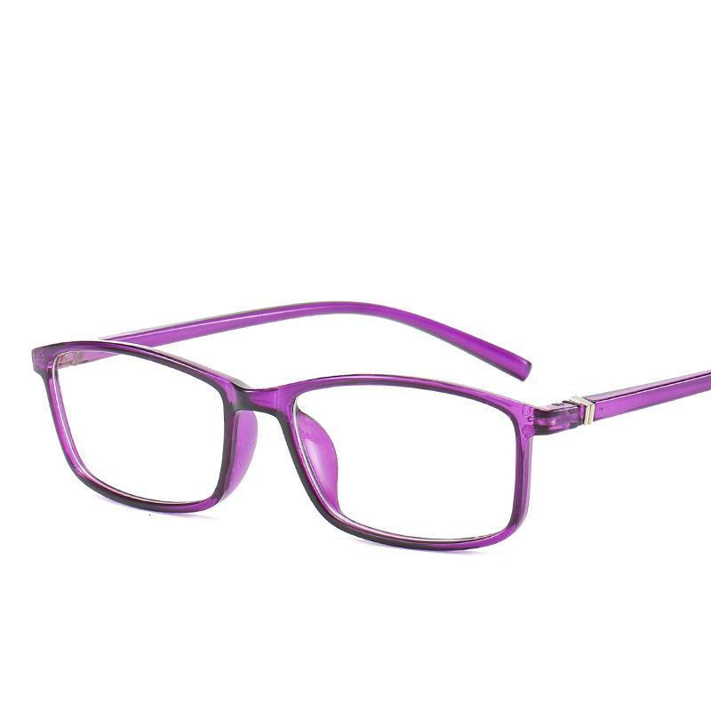 Рамка синие очки, студенческие компьютерные очки, квадратный универсальный зрелище кадр, мужская и женская пластиковая декоративная