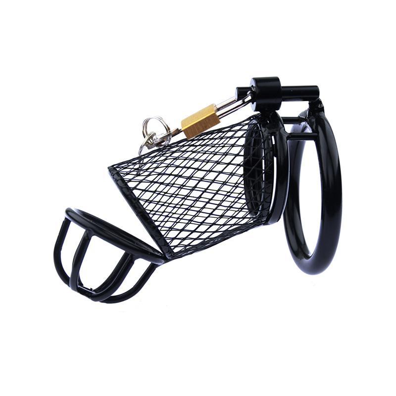 ステンレススチールの雄純粋な機器の通気性コックケージペニスボンデージロックリングセックスおもちゃ男性