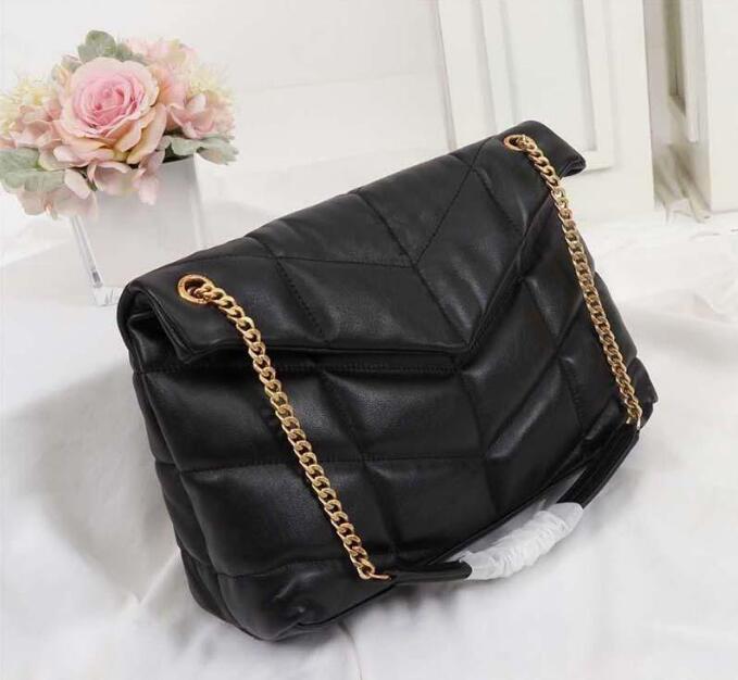 Women Loulou Puffer Shoulder Crossbody Bags Chain Messenger Bag Designer Flap Handbags Clutch Wallets 577476