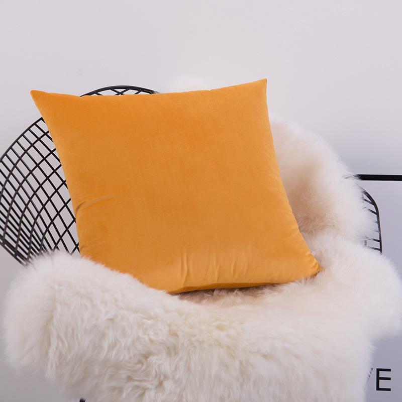 X141 Küçük Taze Kucaklama Yastık Dikey Şerit Süet Yastık Örtüsü Ev Eşyaları Hug Yastık Kılıfı Katı Renk Yastık ASDF Kapakları