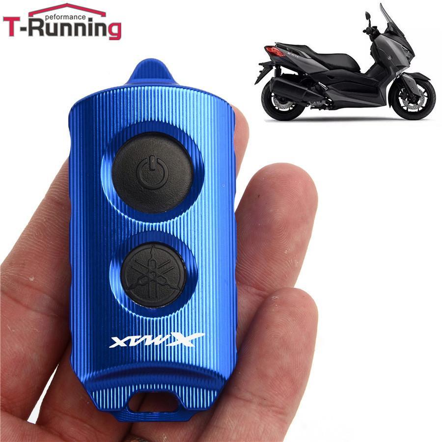 Nuevo control remoto modificado de motocicleta de motocicleta de motocicleta protector protector de la tapa de la tapa llavero para yamaha xmax 300 xmax300 125 250 400