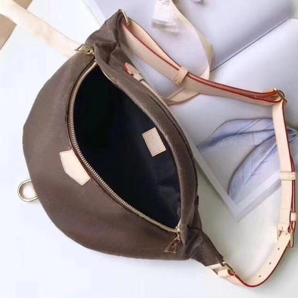 2020 Sıcak Yeni Klasik Moda Lüks Tasarımcı kadın Bel Çantası Messenger Çanta Omuz Askısı Deri Yüksek Kaliteli Erkek Ve Kadın Bel Ba