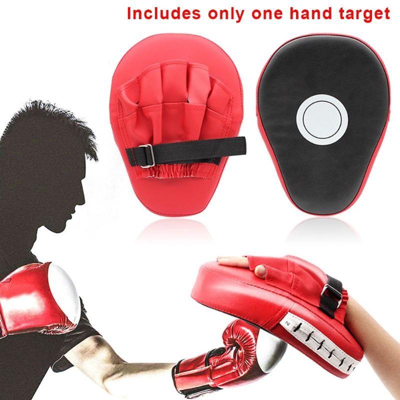 Sandbeutel gekrümmt Boxing Muay Thai Handziel Sanda Training verdickt Erdbeben-resistente Leitbahnen PU Fünf-Finger
