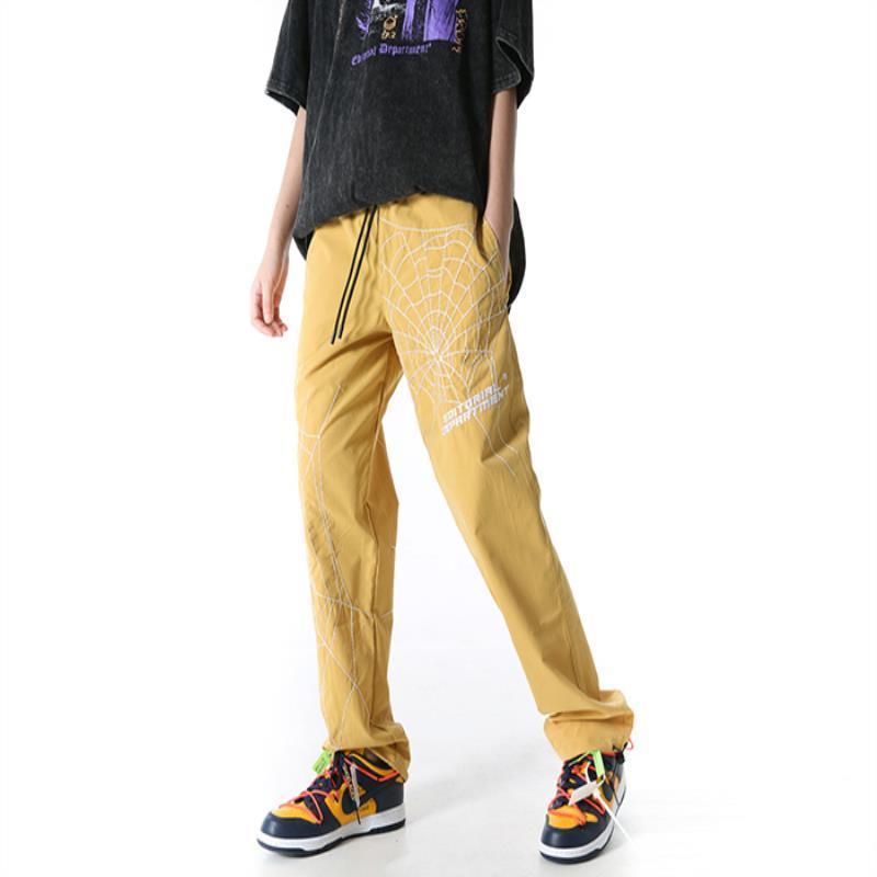 HARAJUKU Baskı Giyim Erkekler 2021 Web Hip Hop Pantolon Sokak Koşu Harlan Moda Rahat Pantolon NQCQB