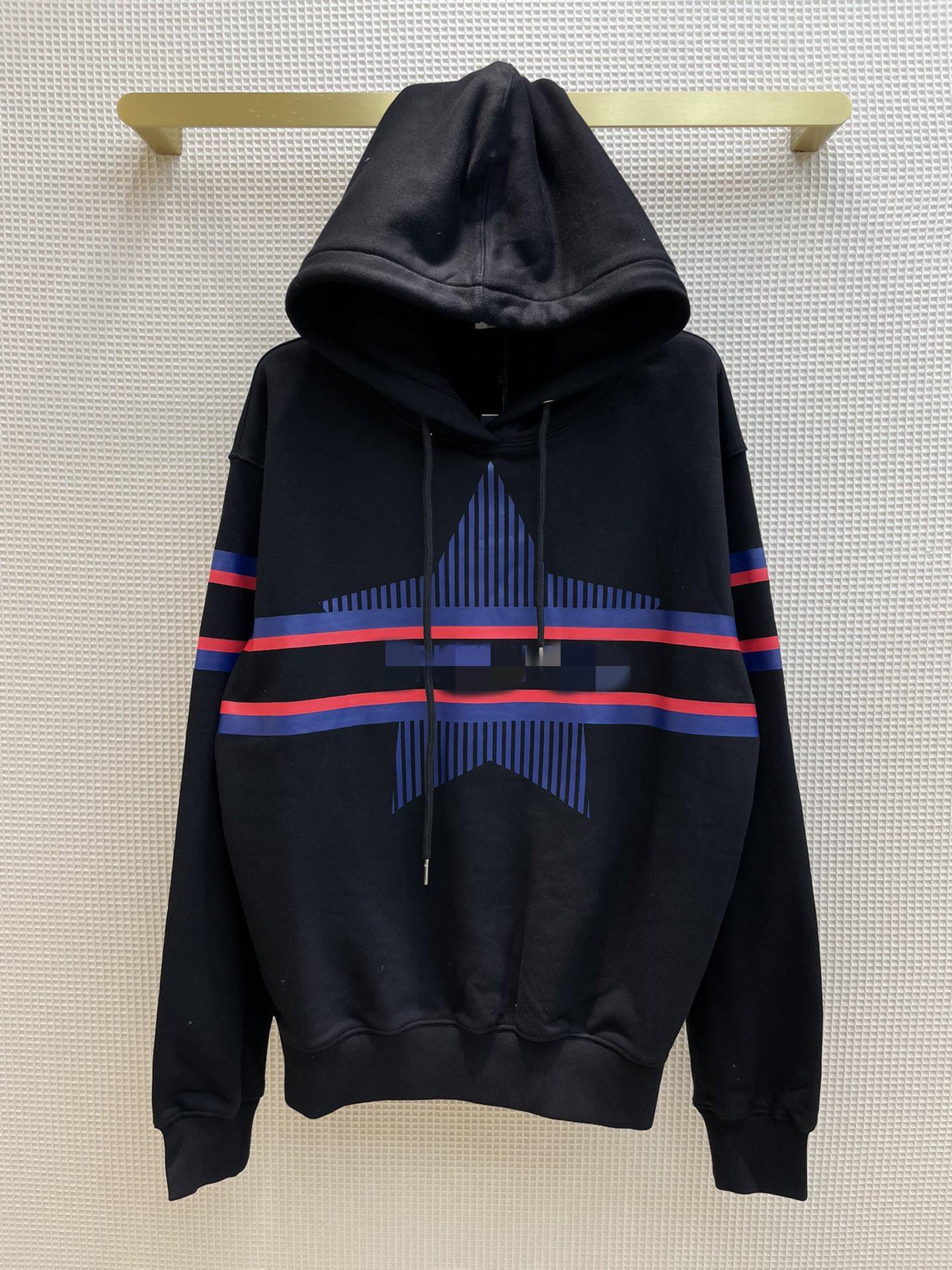 Kadın Hoodies 2021 Sonbahar Kapüşonlu Uzun Kollu Baskı Panelli Tasarımcı Ceket ve Marka Aynı Stil Tişörtü 0918-9