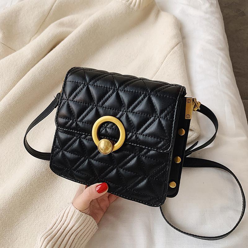 Осень и зимняя текстура сумка для женщин