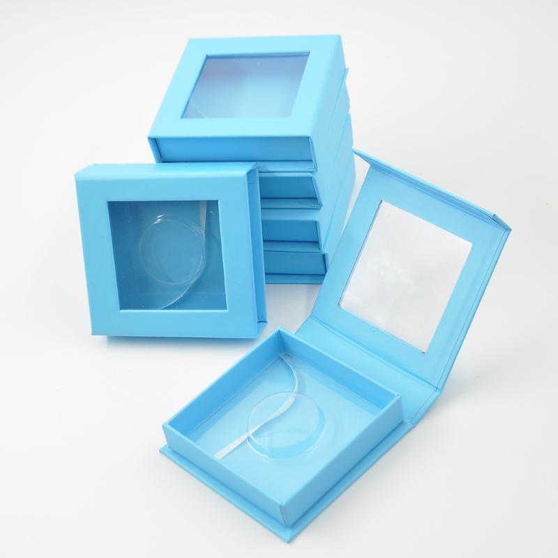 wholesale eyelash packaging box lash packaging boxes custom logo faux cils mink eyelashes square magnetic case bulk gift vendors