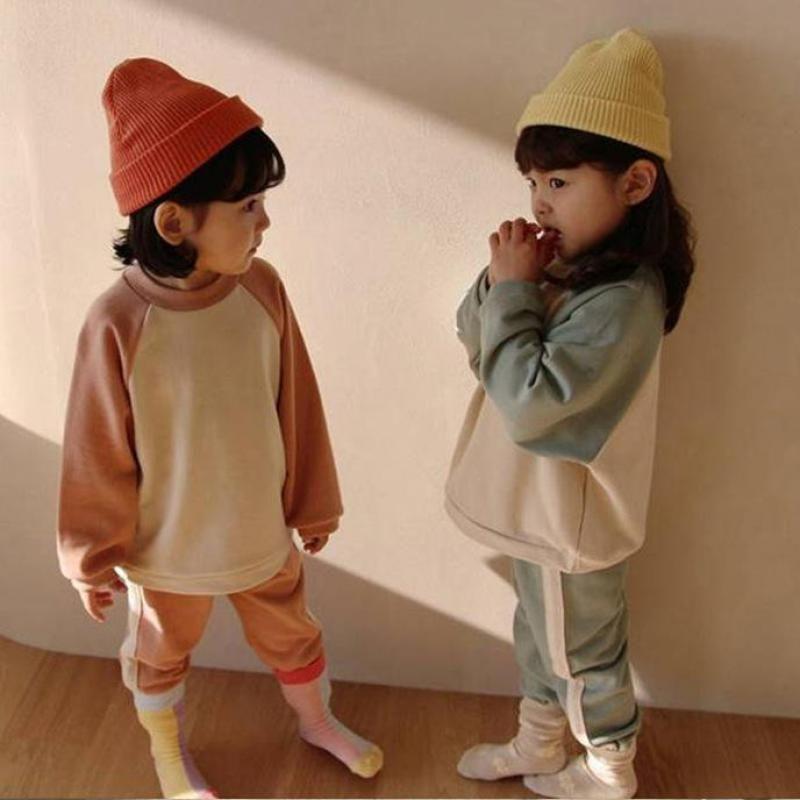 2020 Осень Хэллоуин Детская Одежда Девушки Детские набор Одежда для мальчиков Хлопок 2 шт. Спортивный Досуг Костюм Детская Одежда Одежда C0225