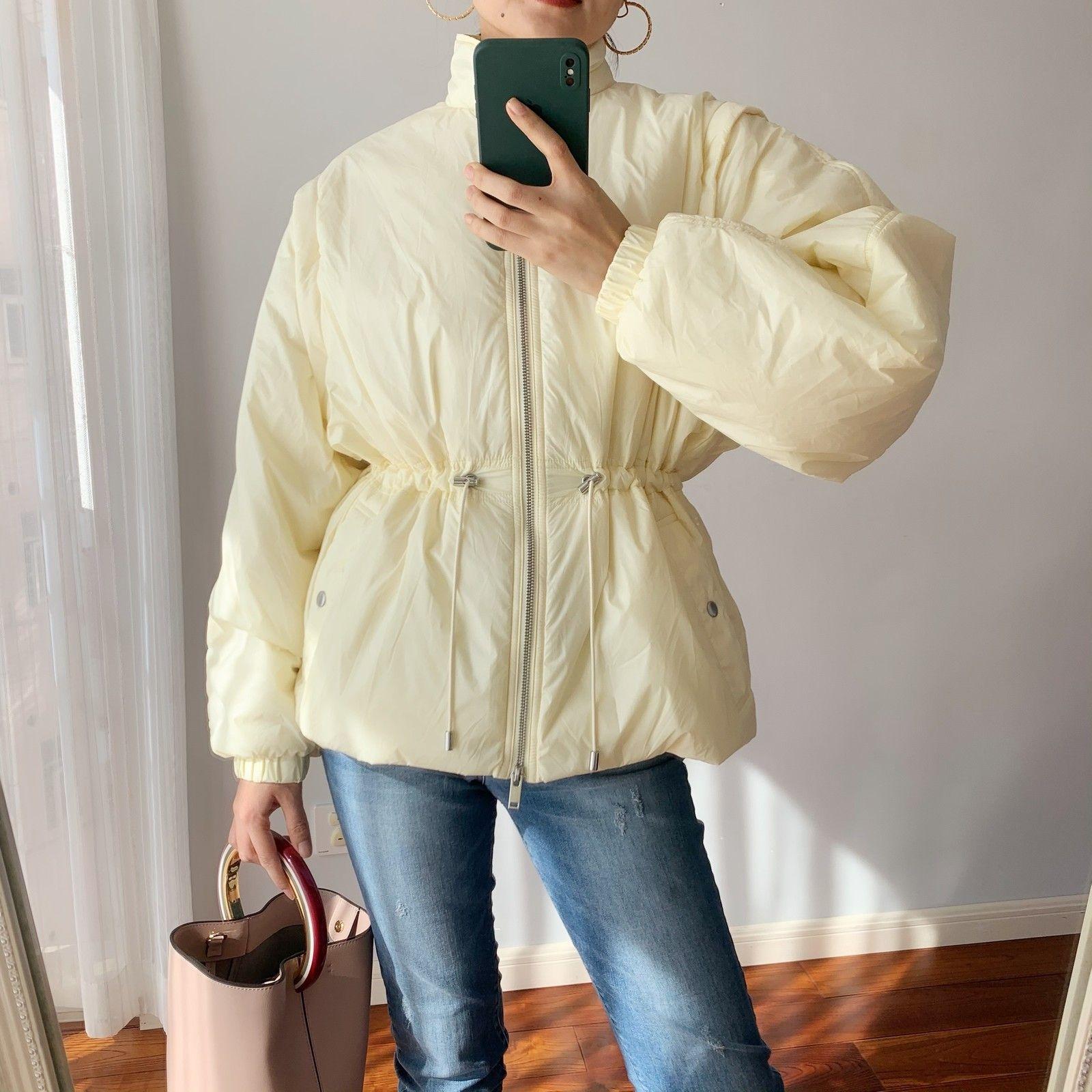 Veste à glissière pour femmes manches détachables deux usure de manteau à manches longues manteau collier neuf 2021 q0119