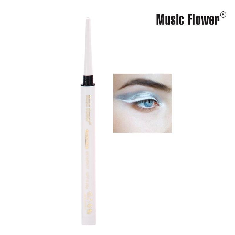 Kedi Stil Eyeliner 1 ADET Su Geçirmez Eyeliner Mat Renk Su Geçirmez Kalem Uzun Ömürlü Olmadan Kozmetik Güzellik 0.06g