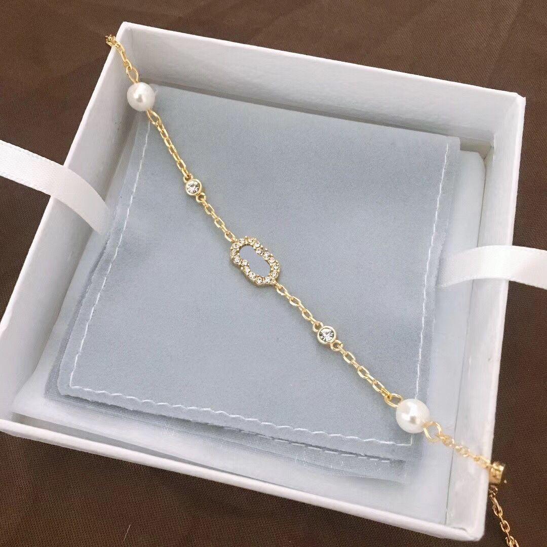 Luxurys designer charme armband exquisite schmuck frauen mode stil armbänder liebhaber geburtstag engagement hochzeitsgeschenk helle qualität gut nett