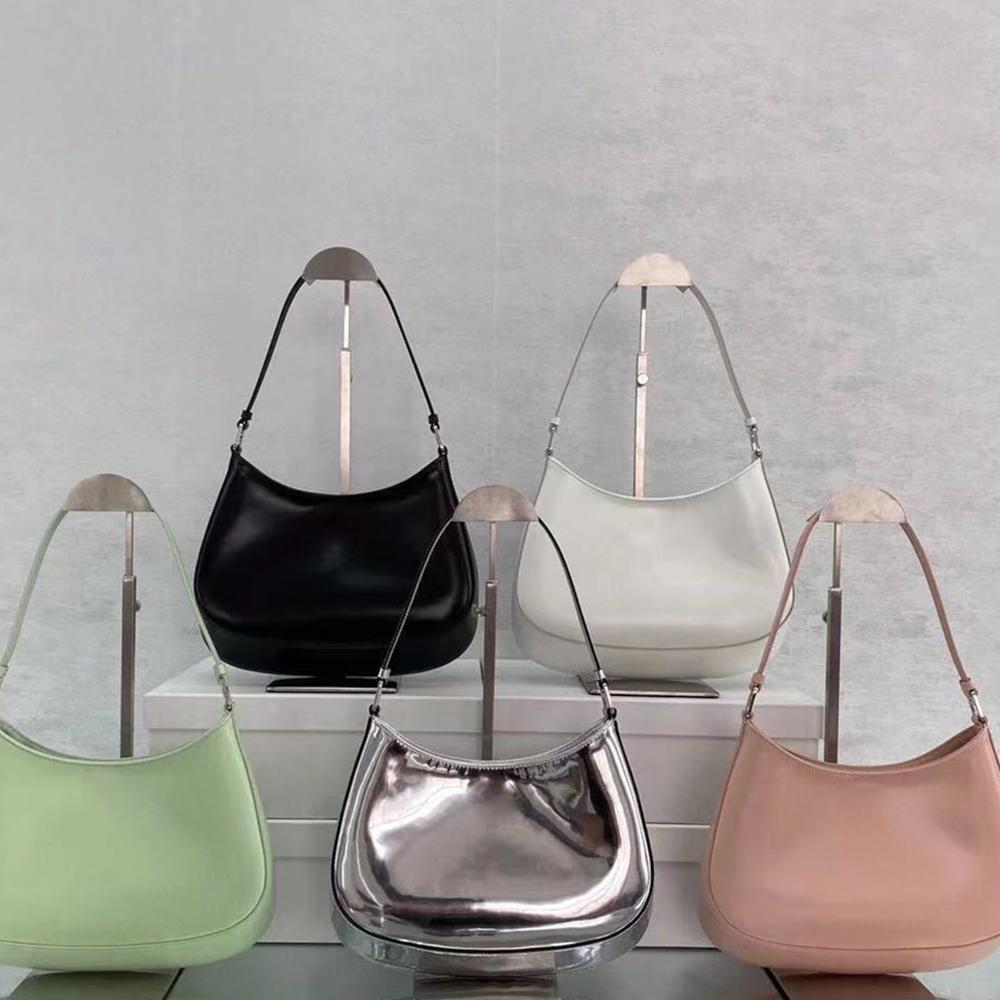 2021 جديد كليو الإبط حقيبة حقائب الكتف حقائب عالية الجودة حقيبة crossbody على شكل قلب الديكور القماش المشمع حقيبة جلد طبيعي بالجملة