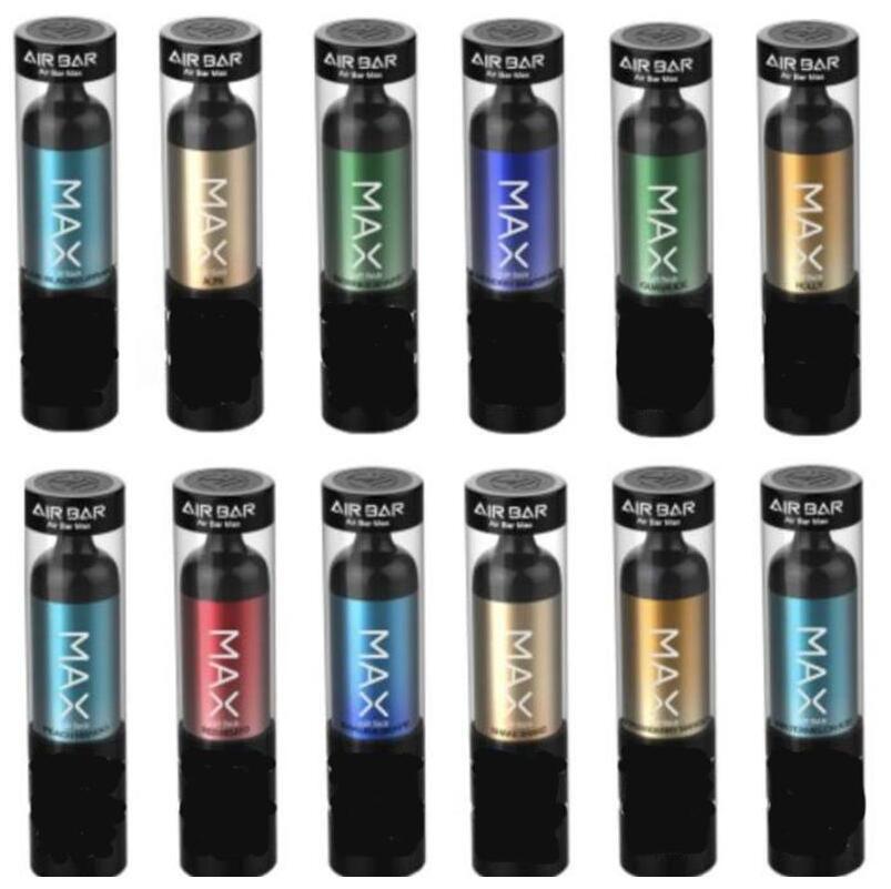 Barre d'air MAX LUX Jetable Vape Pen Dispositif Cigarettes électroniques 500mAh Batterie 2.7ml Pods 2000 Puffs Starter Kit de démarreur
