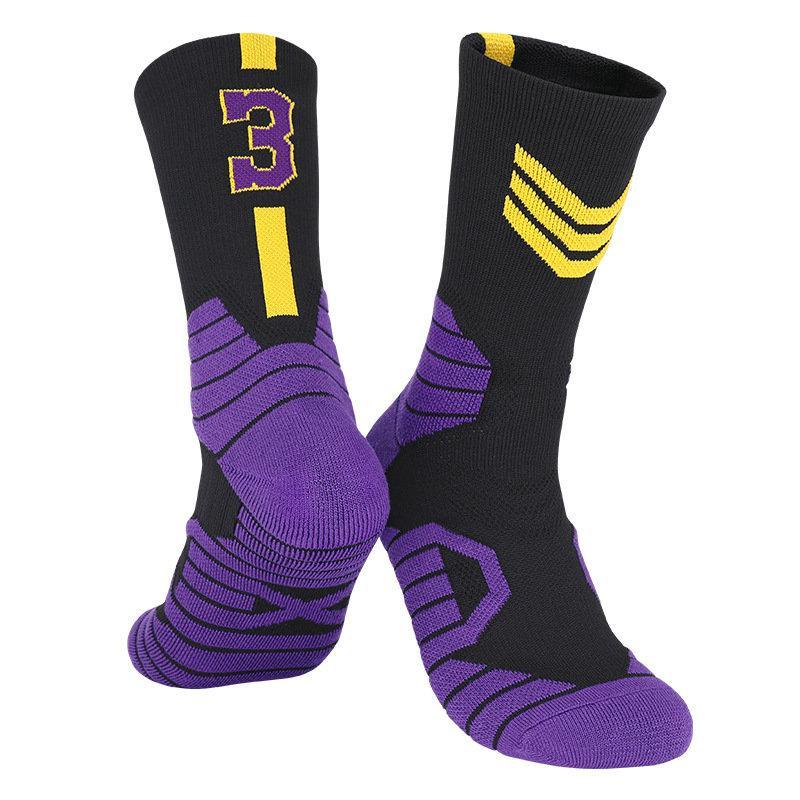 99 USA Professionelle Elite Basketball Socken Mens Langes Knie Athletische Sport Socken Mode Wanderung Laufen Tenniskompression Thermische Socke Männer