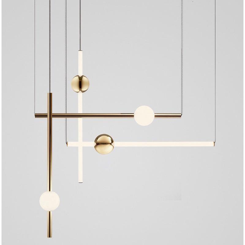 Pendant Lamps Chandelier Lighting Hanging Lamp Led Wall Moon Lustres Lampes Suspendues Living Room Decoration Luzes De Teto Avizeler