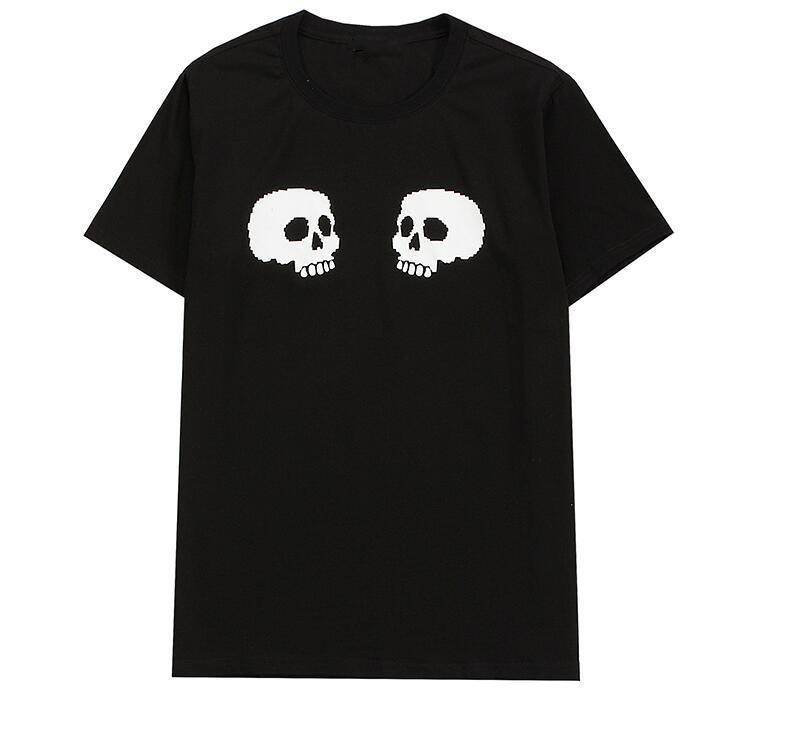Men Designer T-shirt da donna T-shirt Fashion Trend Uomo Casual Street Ladies T-shirt traspirante T-shirt di lusso all'ingrosso di alta qualità 100% di cotone taglia S ~ 2XL