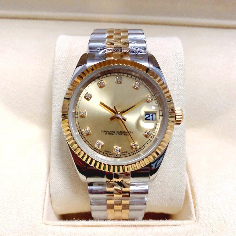 41mm/36mm/mm/31mm/28mm Classic Mens Automatic Women Quartz Watch u1 Factory Luminous Sapphire Waterproof wristwatches stainless steel Luxury Watch