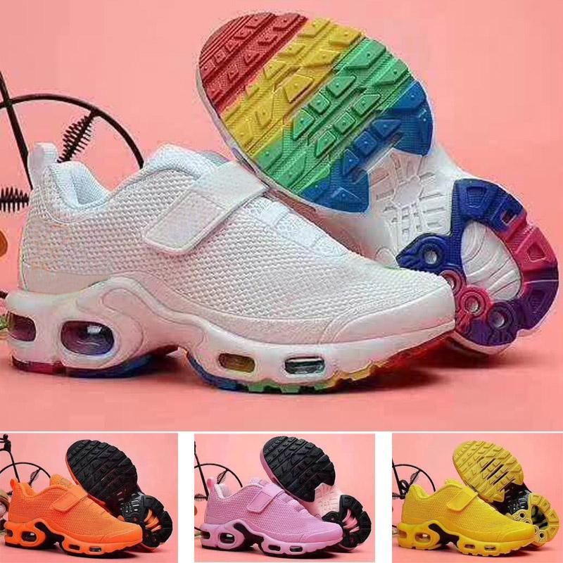 2021 جديد TN بلس KPU الأطفال الاحذية الصبي فتاة الشباب طفل الرياضة حذاء رياضة الحجم 28-35
