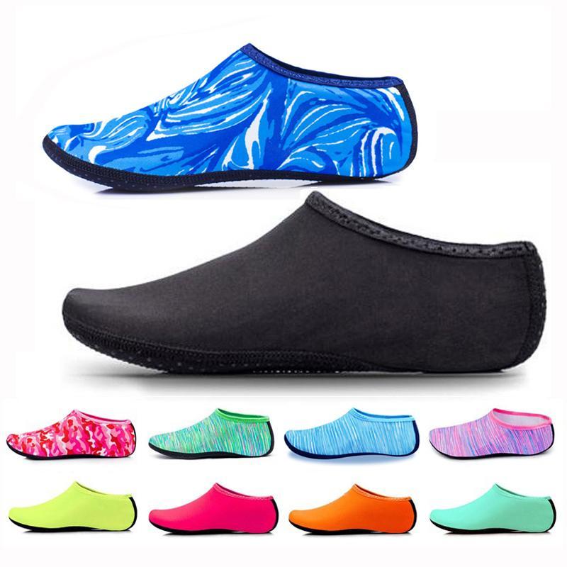 Marca de buceo calcetín descalzo deportes de agua zapatos de piel aqua calcetín snorkeling playa piscina antideslizante calcetín antideslizante yoga zapato