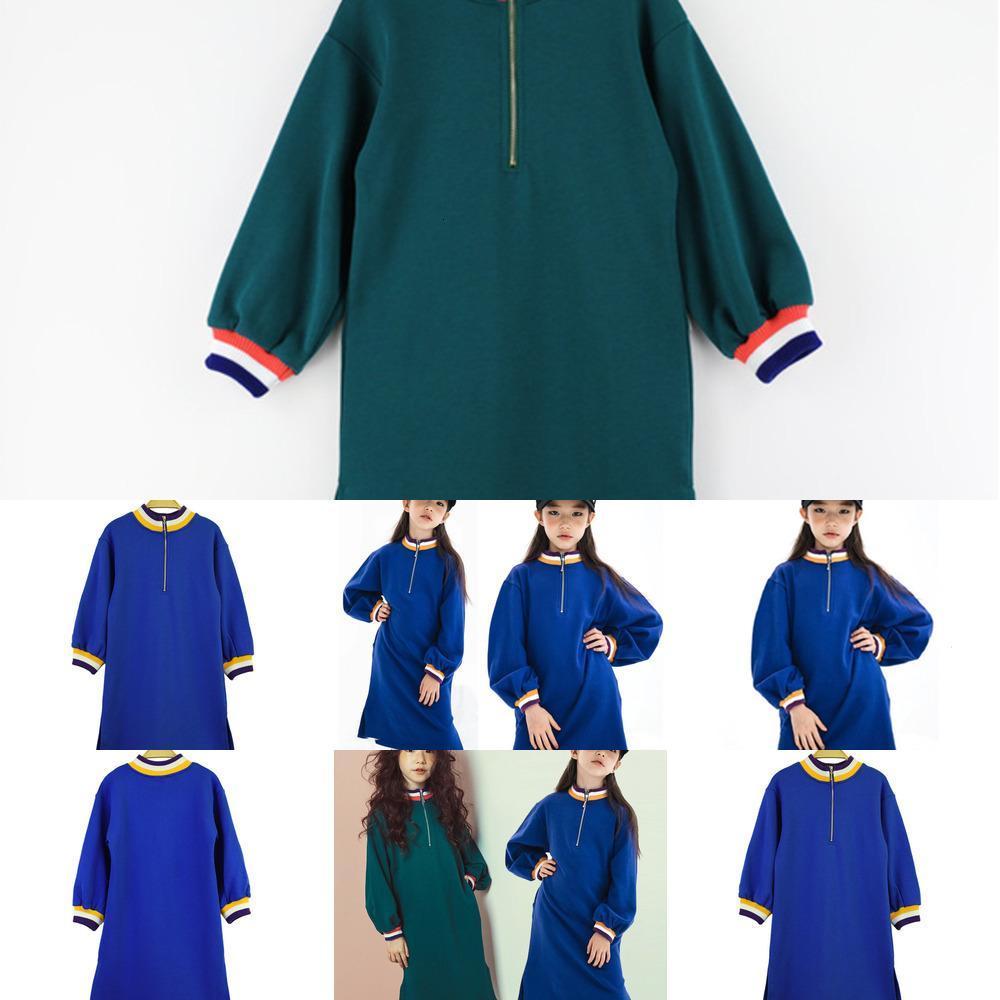 Herbst Baby Mädchen Sweatshirt Neues Kleid Lange Ärmeln Kinder Casual Hemden Langstil Kleinkind Baumwolle Sweatshirt 8RGQ