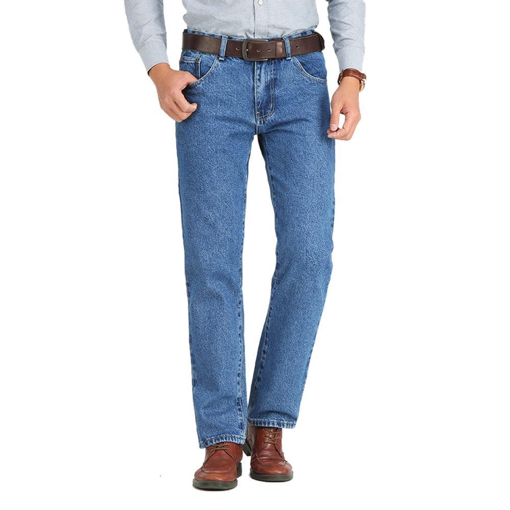 İş Kot Erkekler Klasik İlkbahar Sonbahar Erkek Sıska Düz Streç Marka Denim Pantolon Yaz Tulum Slim Fit Pantolon Mnvn
