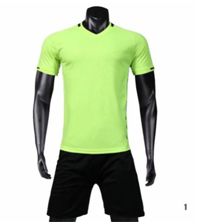 Nuevo llega a Blank Soccer Jersey # 1901-11-85-48 Personalizar Venta caliente Calidad Top Calidad rápida Camiseta Uniformes Jersey Camisetas de fútbol