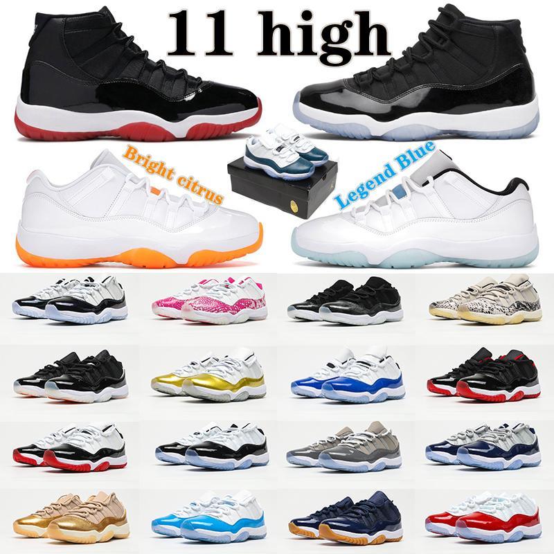 Air Jordan 11 Retro Low 11s shoes Adam Kadın KD Jumpman Basketbol Ayakkabıları Legend Mavi Klasik Erkek Spor Eğitmenleri 25th Yıldönümü Concord 45 Bred Uzay Pantone Lady Sneakers