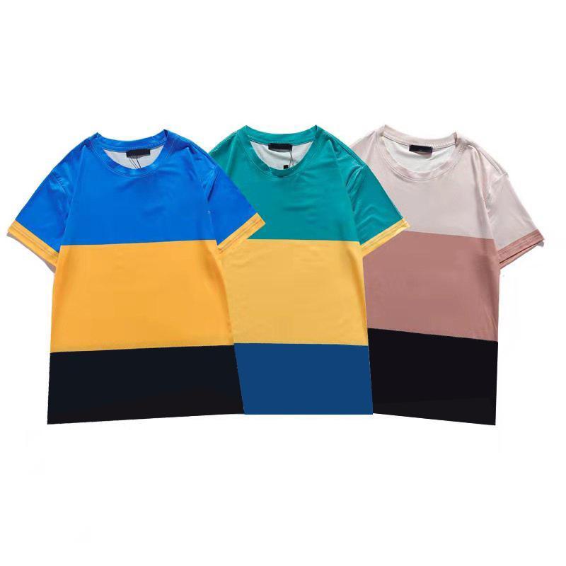 2021 New Summer Fashion Designer T-shirt merci di lusso in puro cotone T-shirt la tendenza classica di alta qualità Spedizione gratuita