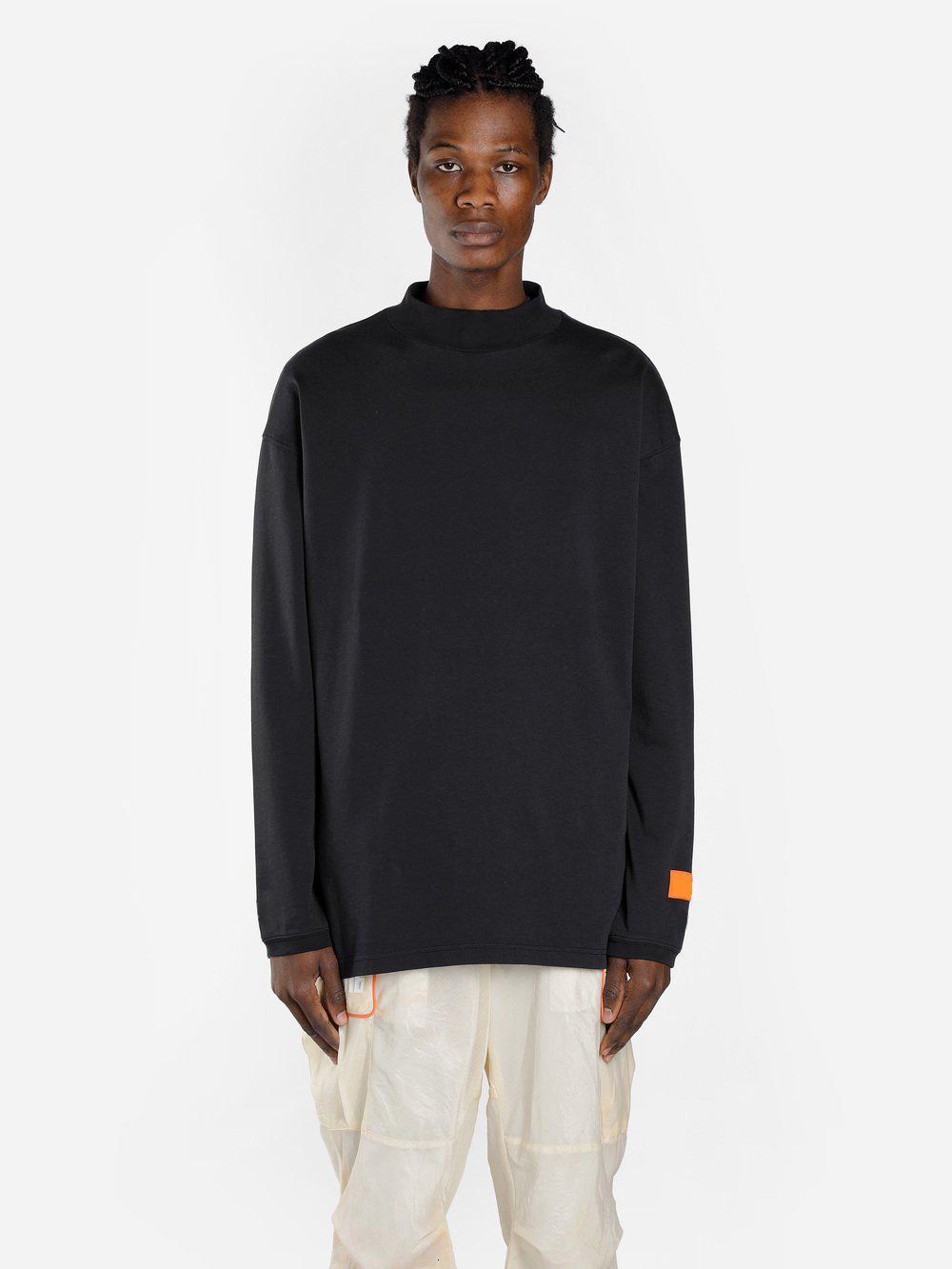 2020 new designers t shirts mens tees hip hop brand street long shirt 3D letter printing cotton crew neck short sleeve long sleeve shirts
