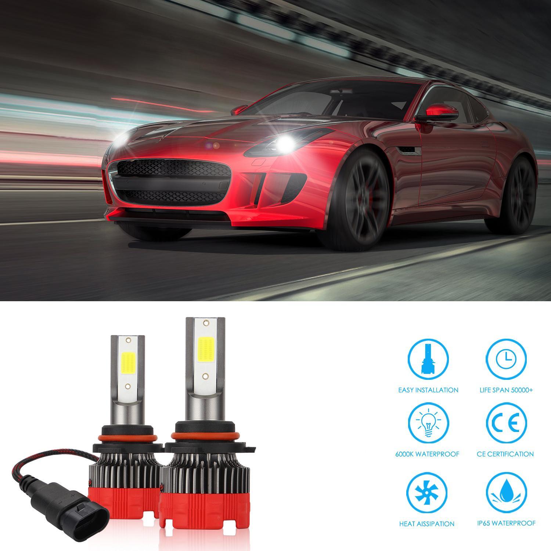 New Arilivals Автомобильные огни Лампы LED H4 H7 9003 HB2 H11 Светодиод H1 H3 H8 H9 880 9005 9006 H13 9004 9007 Автоматические фары 12 В светодиодный свет