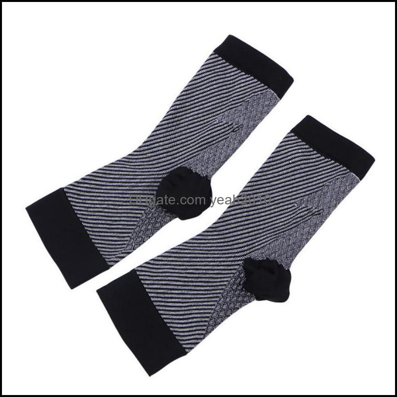 Athletic As Sports & Outdoorssports Socks !! Outdoors Women Men Compression Sport Anti Fatigue Arch Heel Plantar Relief Black White Colors O