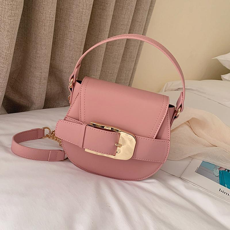 Top Quality Brand Luxurys Designers Bags New Fashion Womens Hand Bag Saddle Bag Chains Lady Messenger Shoulder Handbag Clutches Makeup Bag