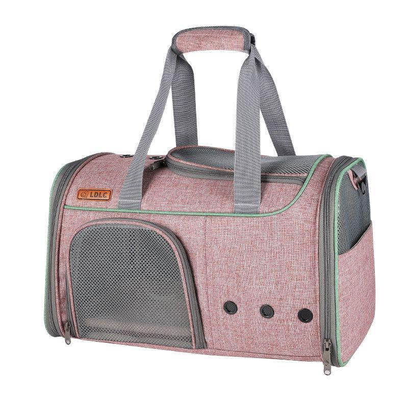 Новая собака щенка носителя дышащая открытая кошка маленькая собака дорожная сумка портативная сетка дышащих мешков носителей для маленьких собак