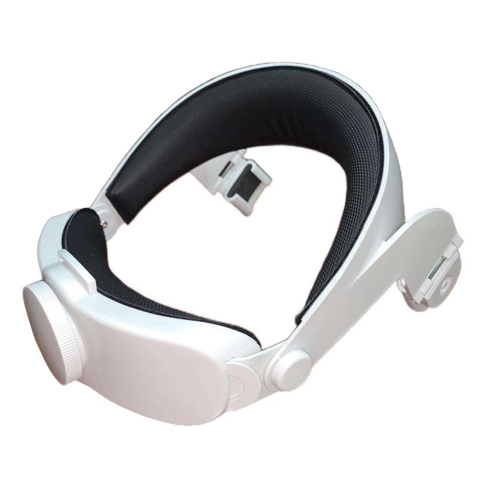 حزام رأس حزام النخبة قابل للتعديل مع وسادة رأس يناسب Oculus Quest 2، سهل التركيب والإزالة
