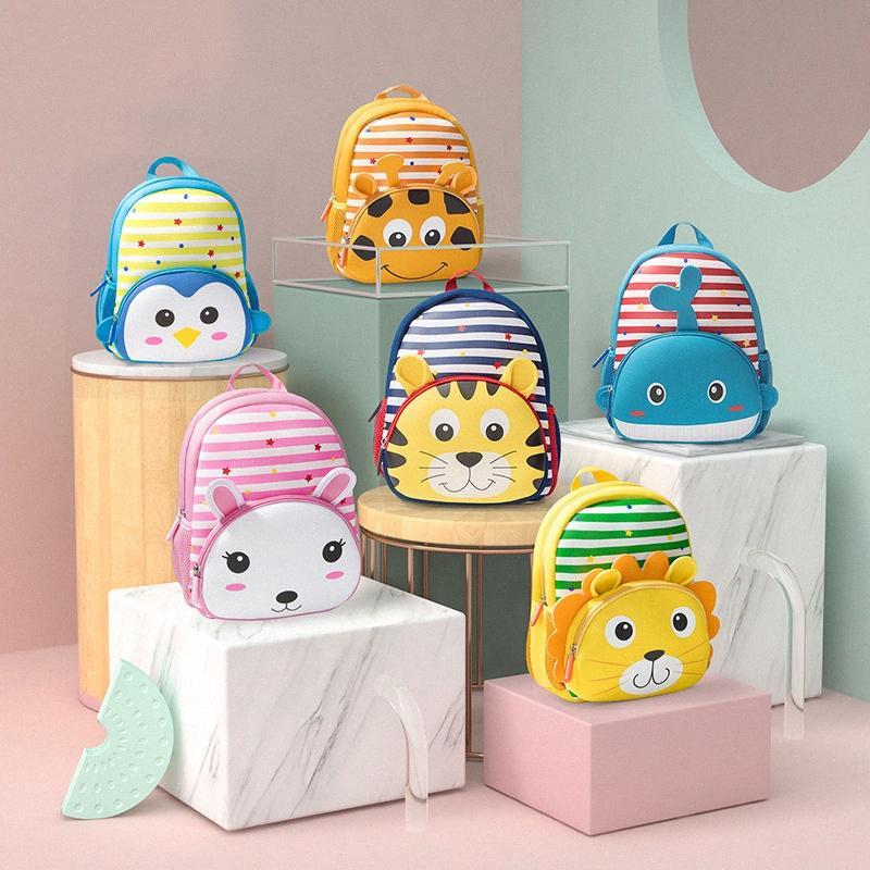 Высококачественные дети дети малышей школьные сумки животных мультфильм игрушка детский рюкзак мальчик gril школьные сумки подарок для детей рюкзаки рюкзаки для b e5xs #