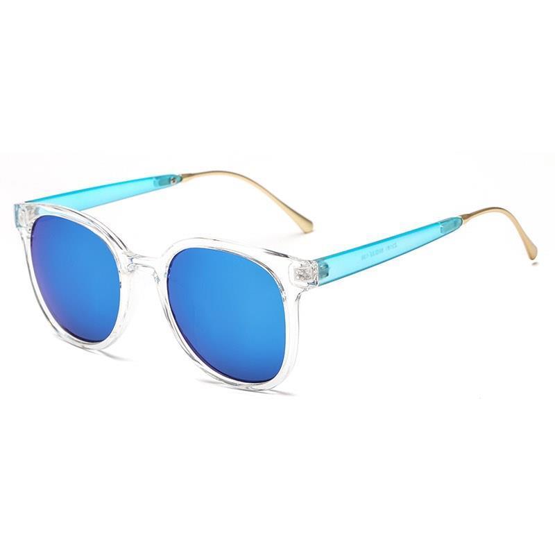 Новый дизайнер мода UV400 круглые очки Sun VGGHE пластиковые рамки солнцезащитные очки линзы оптом дешевое зеркало Eyeglasses красочный UKSQD