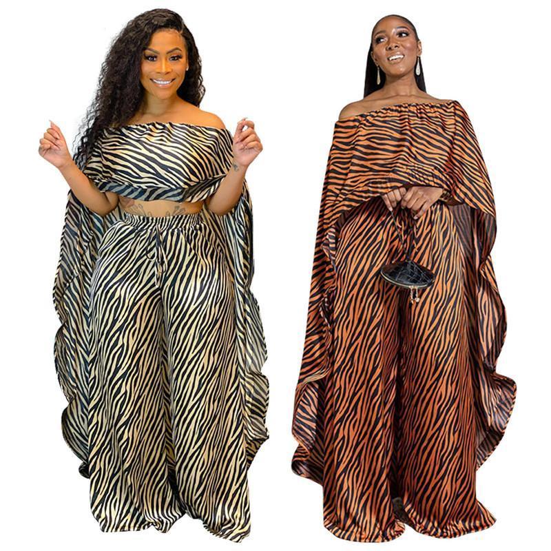 2 шт. Набор Женщины Африка Одежда Африканский Дашики Новая Мода Два Части Костюм Длинные Топы + Широкие Брюки Партия Плюс Размер для Леди