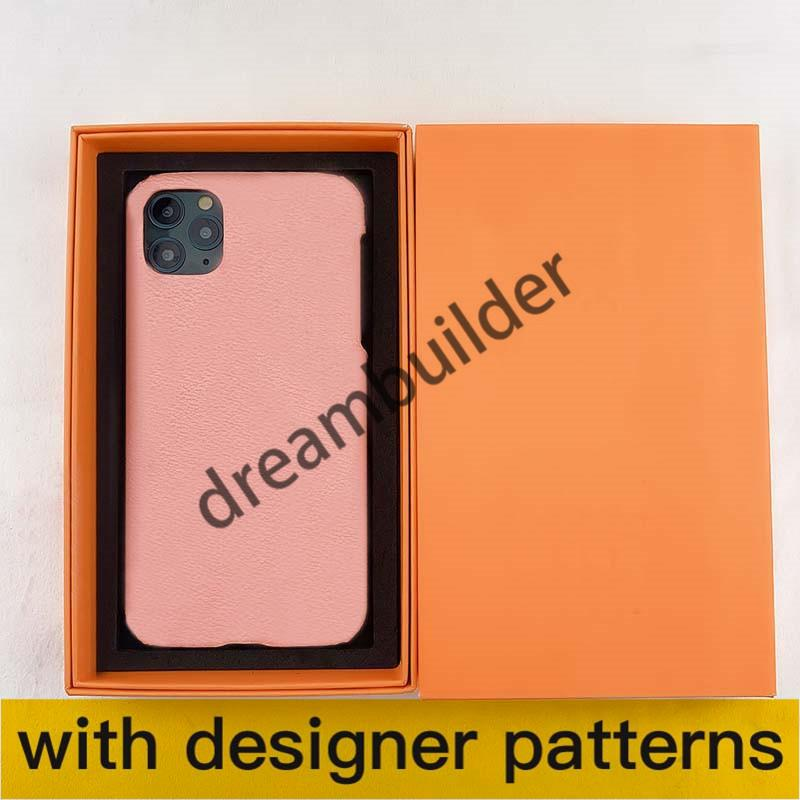 Casos de telefone de moda para iPhone 12 pro máximo 11 11PRO 11PROMAX 7 8 mais x xs xr xsmax shell pu couro samsung s10 20plus s20 nota 10 10p 20u 20 capa