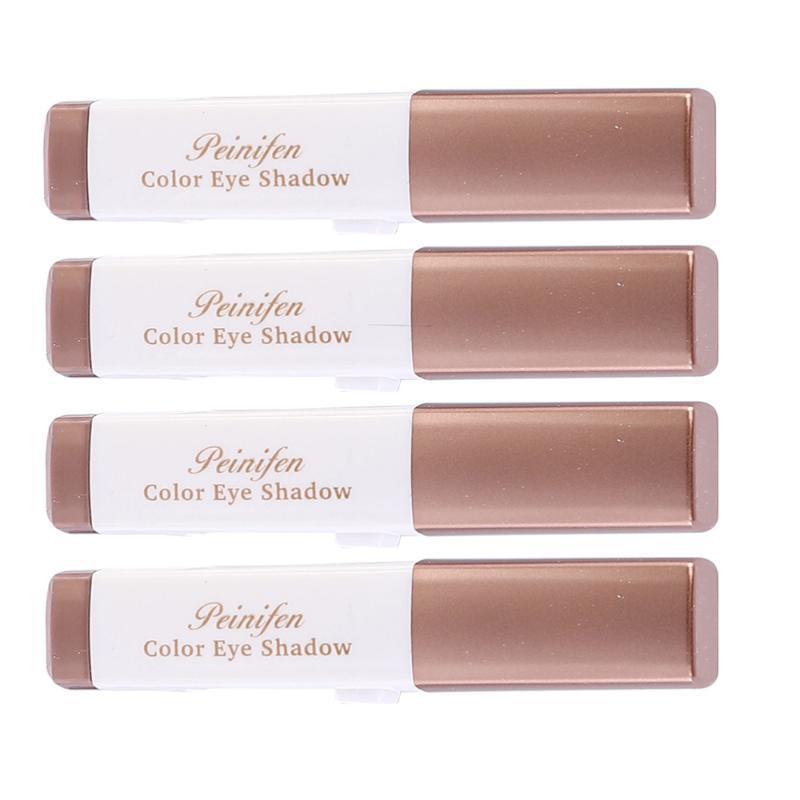 Eye Shadow 4pcs Stick Double Colors Waterproof Gradient Makeup Pens