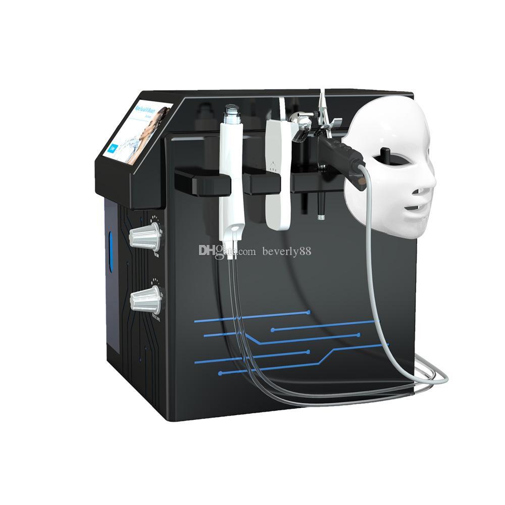 Hidrakasiyal dermabrazyon 4in1 spa hydra yüz arıtma elmas peel hidro su mikrodermabrazyon akne temizleme makinesi güzellik ekipmanları