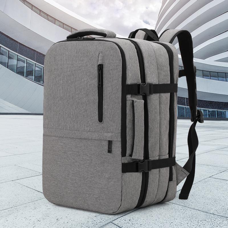 Рюкзак мужской водонепроницаемый бизнес рюкзаки большой емкостью 15,6 дюйма USB зарядные порт ноутбук сумки задние пакеты мужские путешествия Mochila