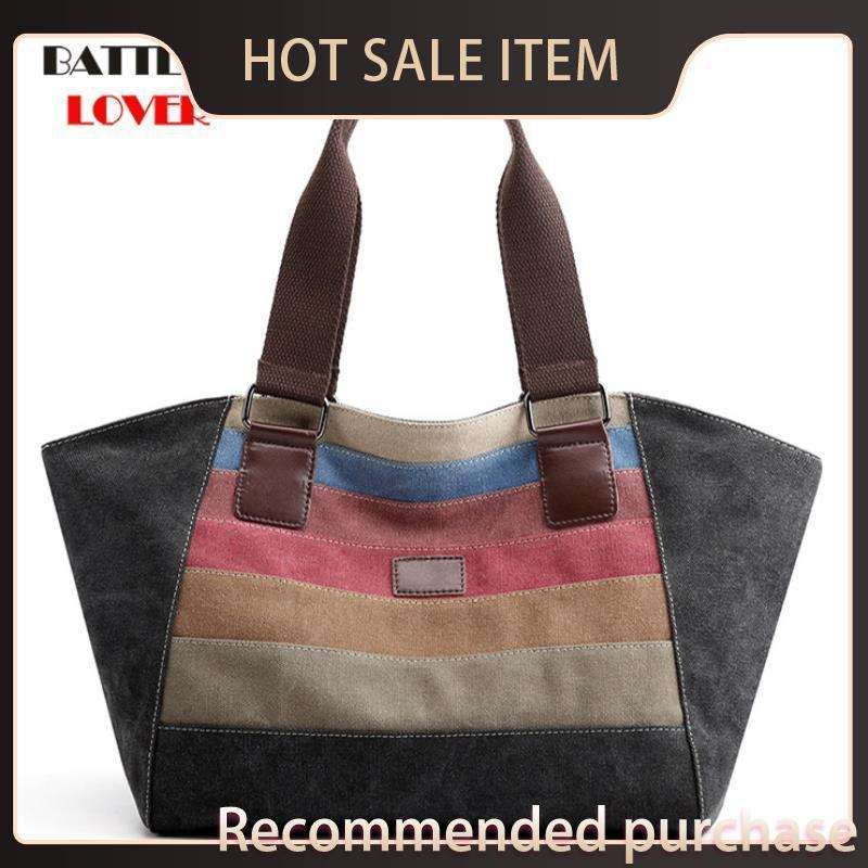 Sac à sacs de sac à poignée de marque designeur Big Tote Casual Sacs Capacité BattlerLover Grandes femmes Jgeoi