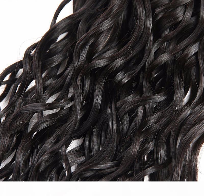 Девственные человеческие волосы уцингистые волосы индийские волосы 3 пакета много водяной волны Weaves 12-28 дюймов необработанных перуанских малазийских индийских волос