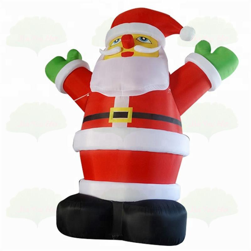 تخصيص نفخ العملاق سانتا كلوز القابضة هدايا حقيبة للحزب الديكور الأب عيد الميلاد الرجل العجوز