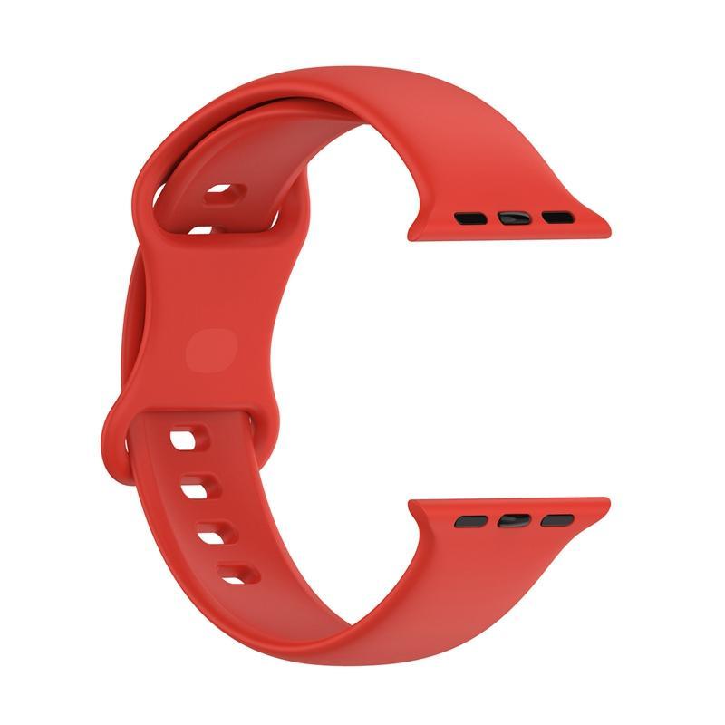 Bandes de remplacement en silicone Sangles pour Apple Watch 7 Bracelet Bracelet 20pcs / Lot