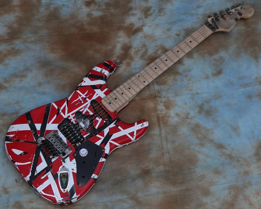 에드워드 Eddie 반 할렌 프랑켄슈타인 무거운 유물 전기 기타 FR2