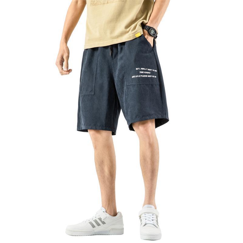 Herren Shorts 2021 Herren Casual Bermuda Männer Sommer Strand Lose Homme Hip Hop Männlich Große Größe M-5XL Tropfen